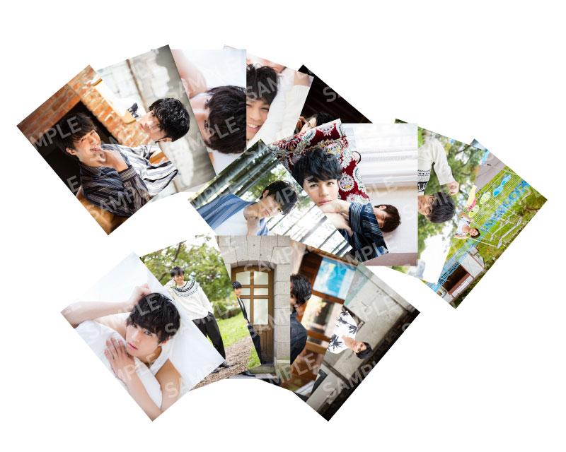 画像1: 佐伯大地 生写真15点セット 2018 カレンダー発売記念イベント会場販売  (1)