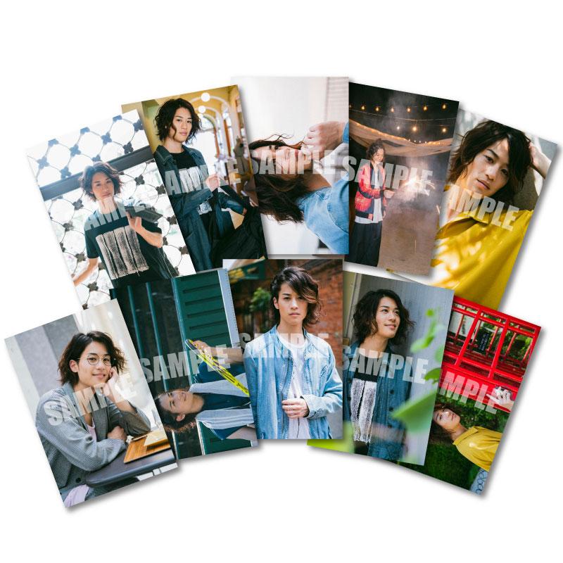 画像1: 石田 隼  生写真10点セット 2019カレンダー発売記念イベント会場販売品 (1)
