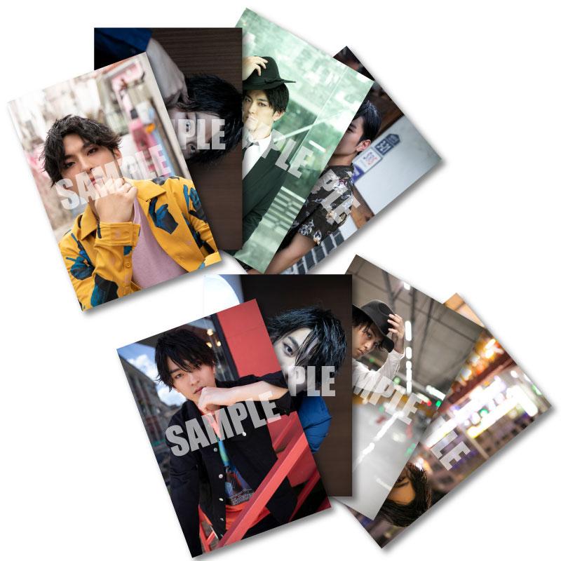 画像1: 田鶴 翔吾  生写真8点セット 2019-20カレンダー発売記念イベント会場販売品 (1)