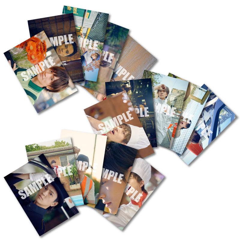 画像1: 財木琢磨 生写真15点セット&東京会場限定ノベルティ2Lフォト 2020カレンダー発売記念イベント会場販売品 (1)
