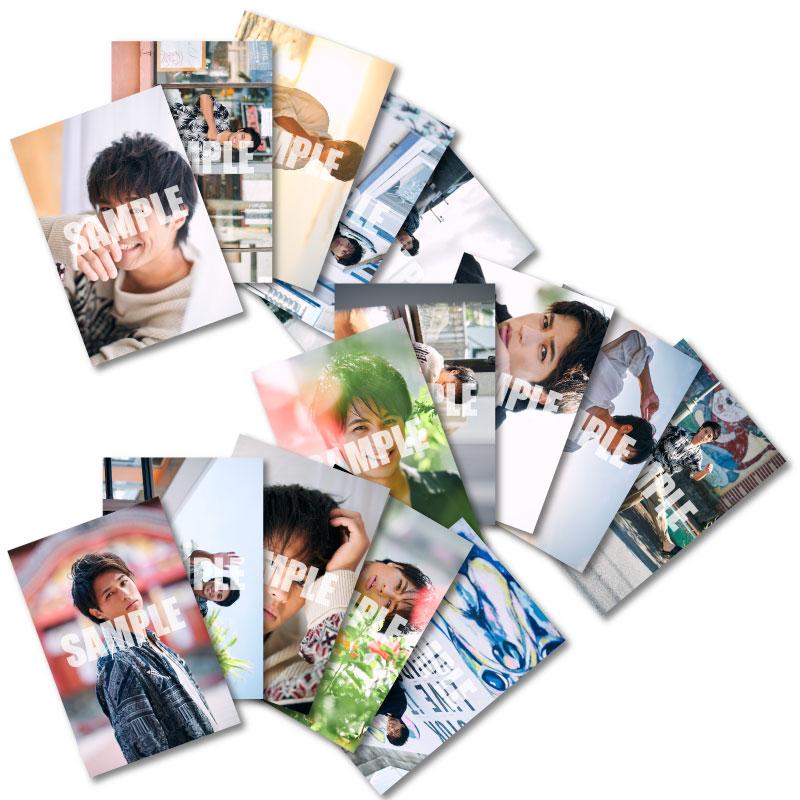 画像1: 佐伯大地 生写真15点セット 2020カレンダー発売記念イベント会場販売品 (1)