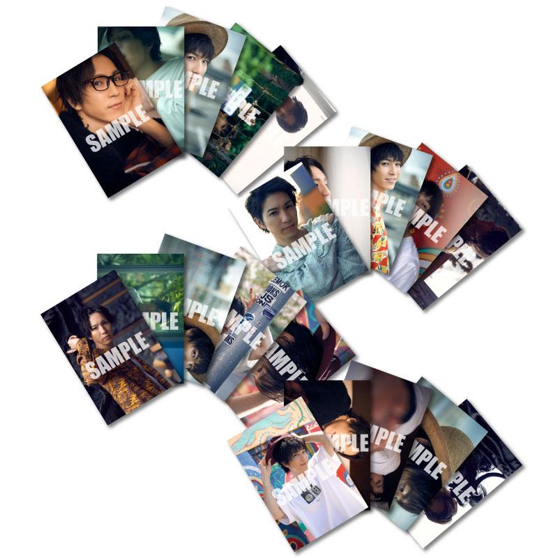画像1: 田中稔彦 生写真20点セット 1st写真集『 惑う星 』手渡し会会場販売品 (1)