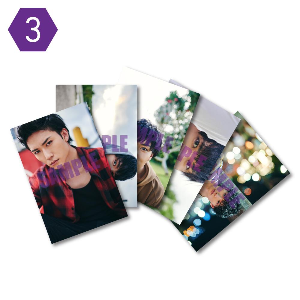 画像1: 日向野祥  生写真5点セット(3) (1)