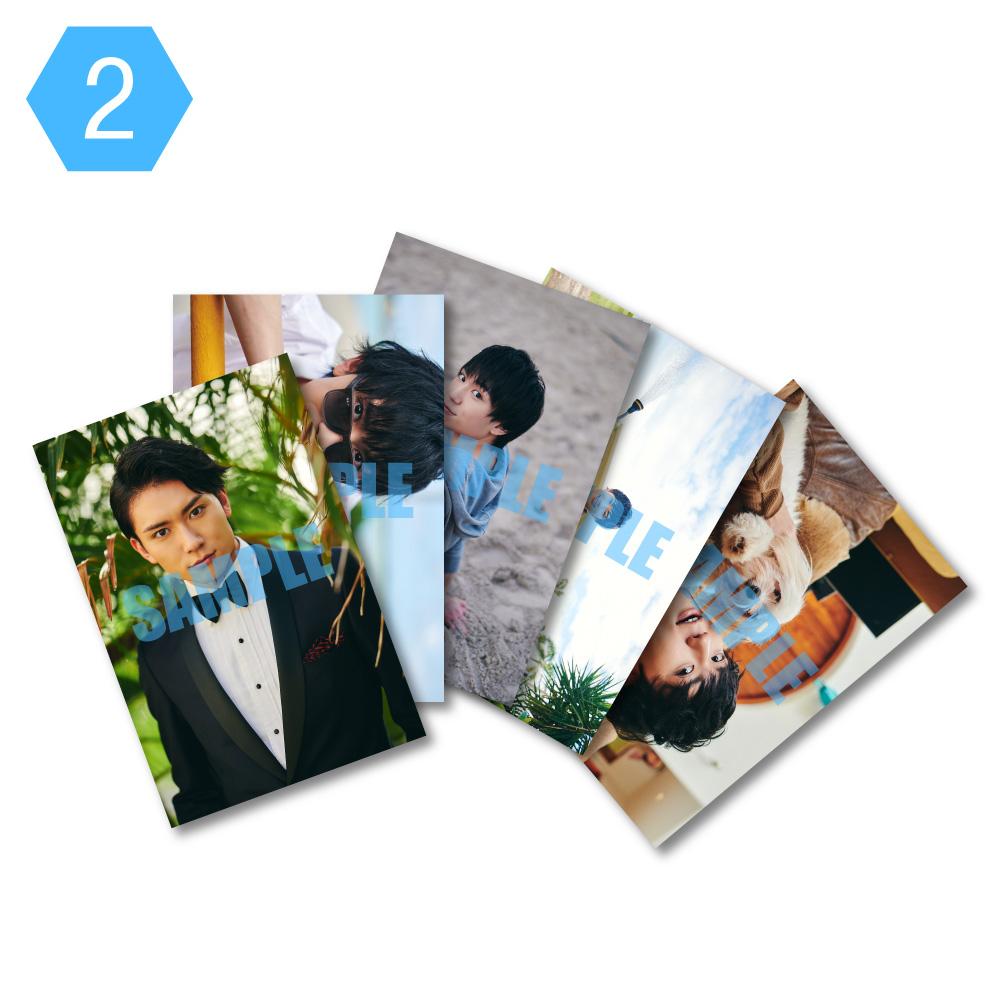 画像1: 日向野祥  生写真5点セット(2) (1)