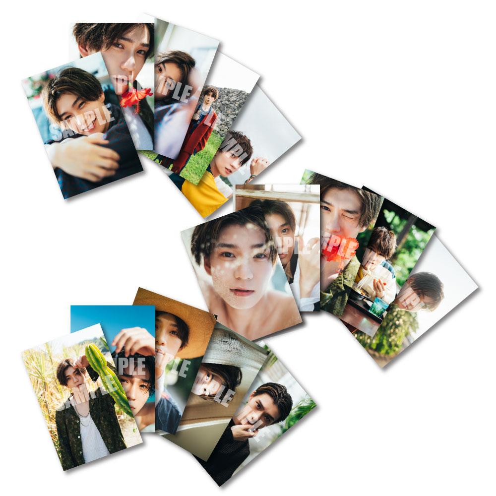 画像1: 木津つばさ 生写真15点セット 2021カレンダー手渡し会 会場販売品 (1)